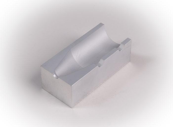 prototyp - eloxerad aluminium för material test